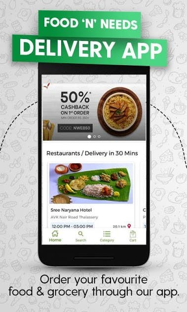 Whakaaro : Online Food Order & Delivery Android App