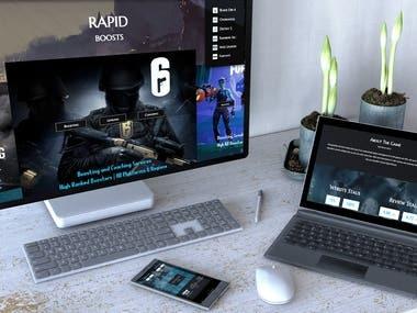Game Website Development