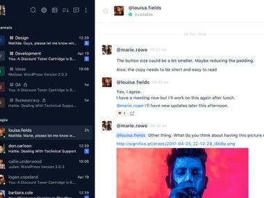 WebRTC, Chat Platform