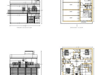 House Layout and Elevation Planning.