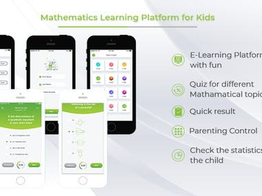 E- Learning Solution for Mathematics