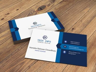 Business Card Design By Photoshop