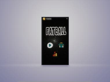 FatBall; Eat Healthy Live Long - Mobile Game