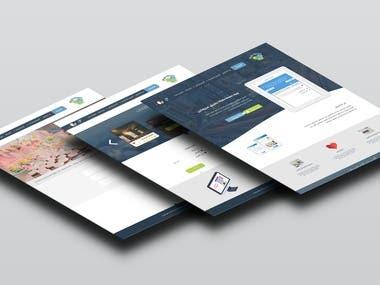 UI/UX Design for a website