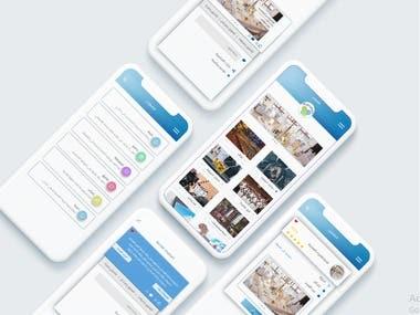 Mabrokeen Mobile app Design