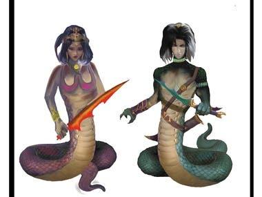 Avatar design