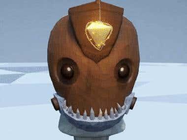 Absolver Mask Contest : Angler Mask