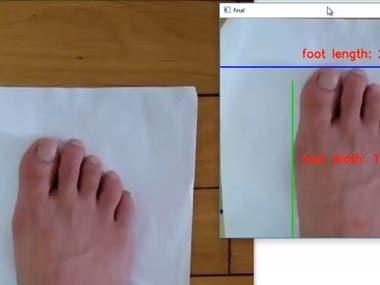 Foot Size Mesurement