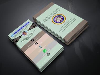 PSD Business Card Design