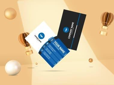 business card demo