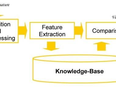 Hidden Markov Model and Signature Verification