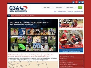 Sports Community Website