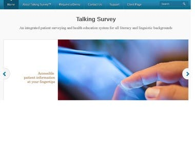 Talking Survey Website and Intranet based Survey