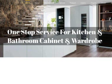 PA Kitchen website