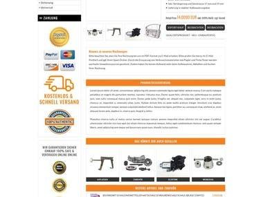 ebay Listing page