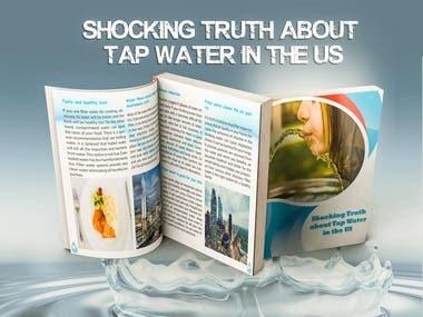 Tap water Book Mockup