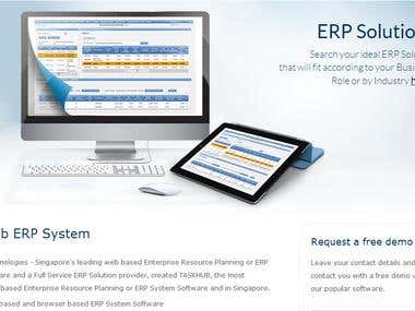 my ERP solution