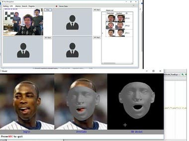 3D Face and face recognition