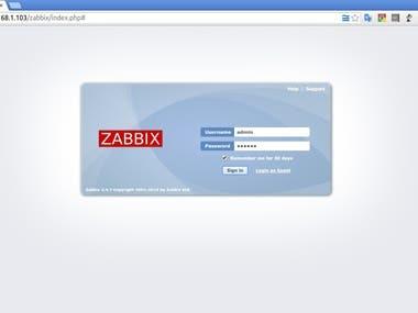 Zabbix Install