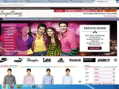 Bengal Bazzar.com - A Complete E-Commerce Website