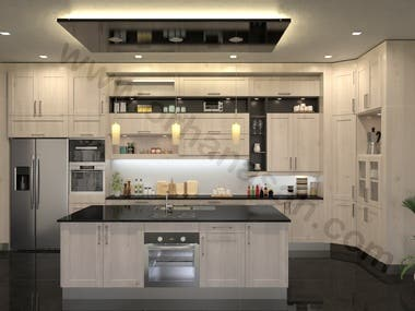 Kitchen Realistic Render
