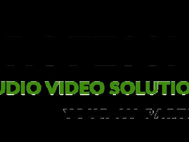 logo for professional AV solutions!