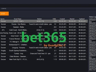 Sports Betting Bot(bet365,betfair...)