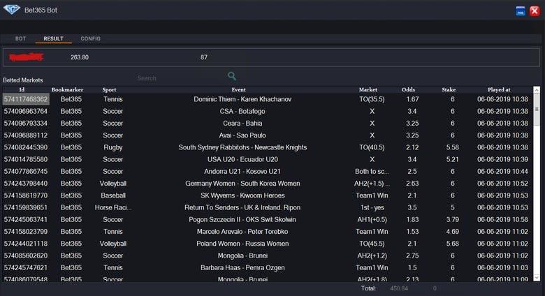 Sports Betting Bot(bet365,betfair   ) | Freelancer