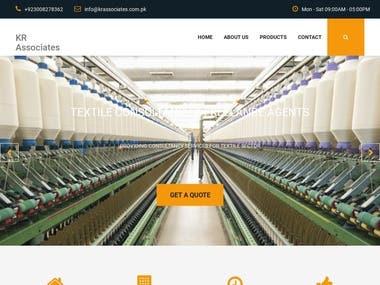 Custom Build Company Website