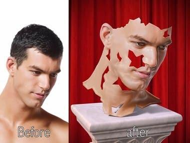 photo create 3D model
