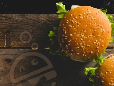 Burger Lab Logo Design
