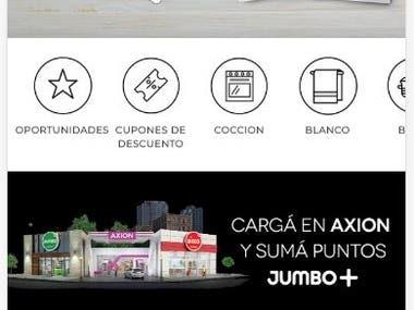 Aplicación Jumbo Más con IONIC