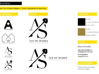Ace of Spades logo and branding