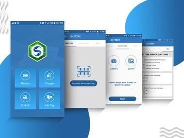 ServiceGem - NFC Chip Integration to track machines.