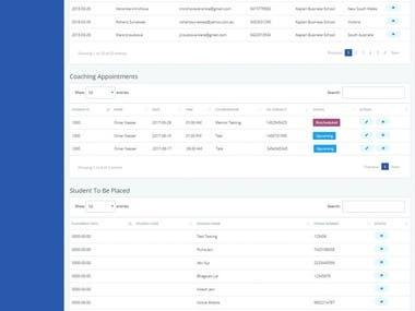 Design Complete responsive portal for igstudentportal