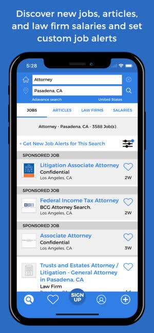LawCrossing Legal Job Search