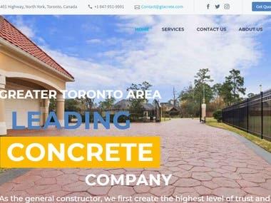 GTAcrete is Concrete Contractors