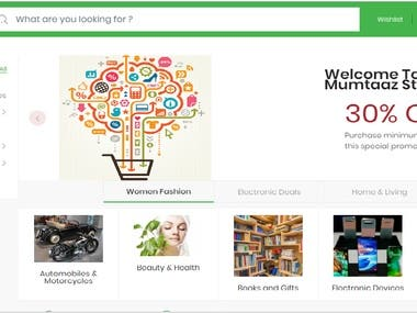 Ecommerce Store Website for Online Shopping