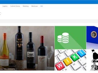 Xanadu Wines LLC Intranet Portal - SharePoint
