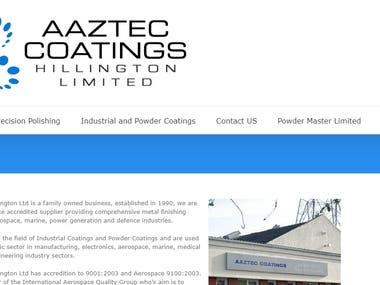 Aaztec Coatings Hillington Ltd