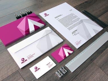 Diseño de papeleria