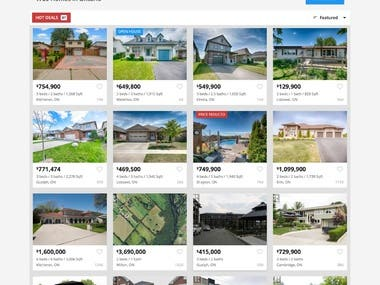 MLS listing website