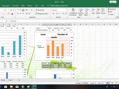 Excel Sheet (Graph)