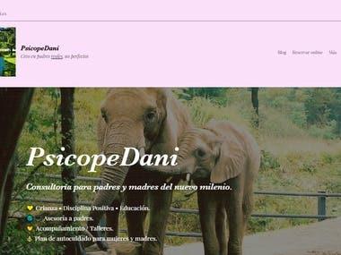 Website - PsicopeDani