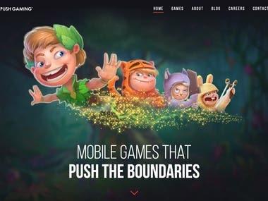 Push Gaming — modern games that push the boundaries