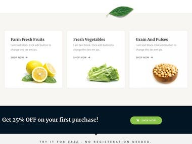 Online Fresh Fruits and Vegetable