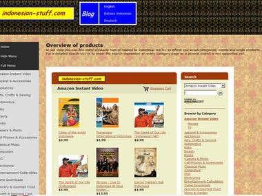 Amazon-Shop indonesian-stuff.com