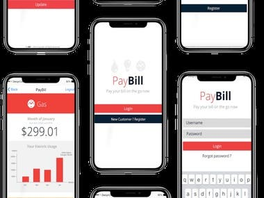 Utility Bills Payment application