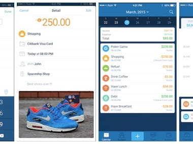 Expense management App