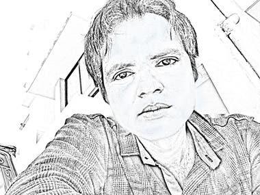 Photoshop Pencil sketch